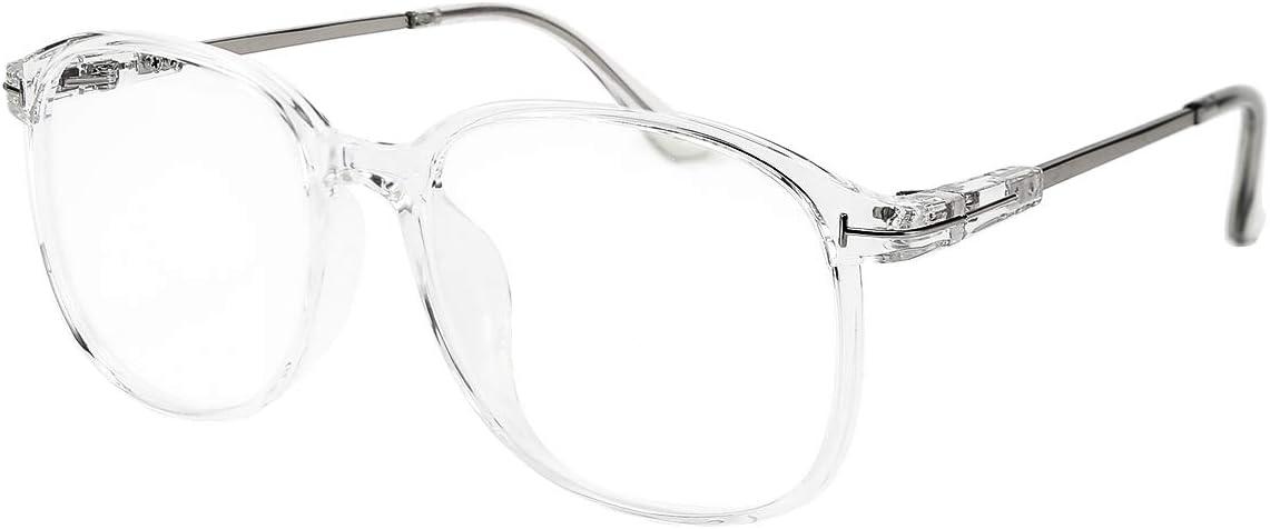 FEISEDY Blue Light Blocking Glasses Square Vintage Eyewear TR90 Anti Blue Ray Computer Screen Glasses for Women Men B2598