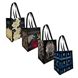 Game of Thrones - Reusable Grocery Tote Bags (4-pack)