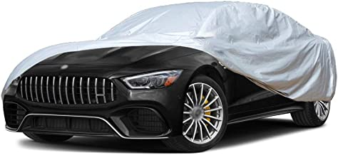 Old street Car Cover Compatible with Vauxhall Astra GTC, Custom-Fit Full Body Auto Vehicle Covers, Waterproof Snow Rain UV...