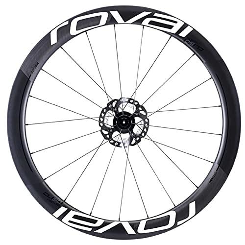 Pegatinas de la rueda de bicicleta R-O-V-A-L CL50MM Ruedas de bicicleta Pegatinas Traje para 50 mm Calcomanías de profundidad de borde Bicicleta Ciclismo Rueda Pegatinas de llanta para dos ruedas pega