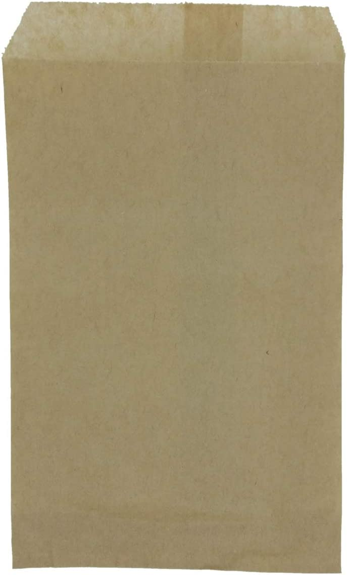 N'ice Packaging 200 Kraft Flat Paper Max 53% Many popular brands OFF Cookie Candy for Bags Good