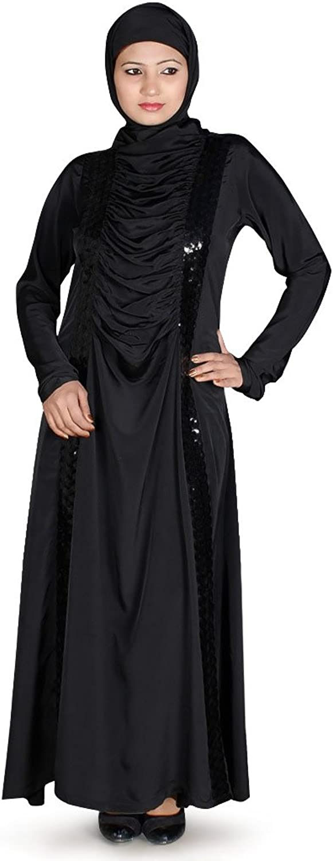 MyBatua Women's Islamic Clothing Buy Abaya Online in Black