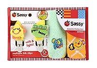 Sassy(ライセンス) ミニタオル 2P & ビブクリップセット/男の子 【ギフト】 NZSA91804