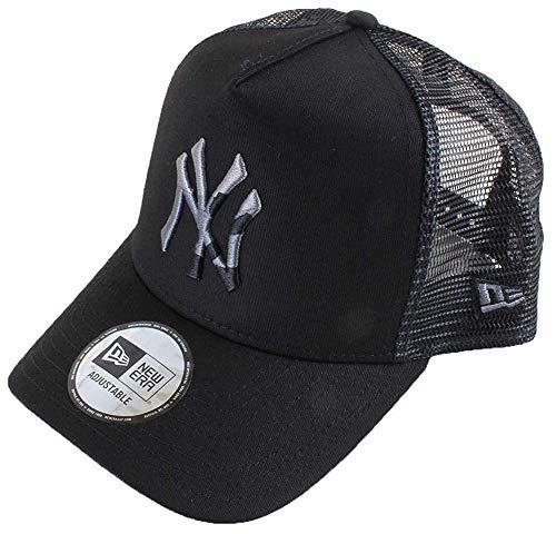 New Era Camo Infill Trucker Cap NY Yankees Schwarz, Size:ONE Size