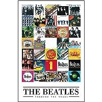 BEATLES ビートルズ (来日55周年記念) - Through the years/ポスター 【公式/オフィシャル】