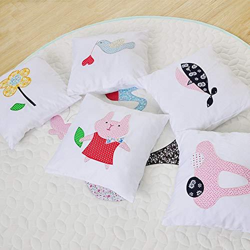 MCLJR Tipi Carpa para niños, 100% algodón Carpa, la Tienda del Juego Plegable, fácil de Quitar y Lavar Estructura de Madera Carpa,...