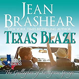 Texas Blaze audiobook cover art