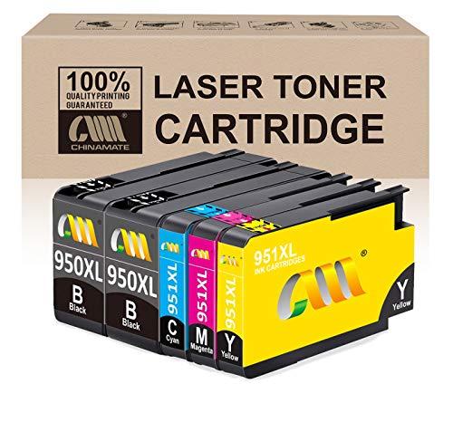 Reemplazo de cartucho de tinta compatible con CMCMCM para HP 950 XL 951 XL 950XL 951XL Trabajo para HP Officejet Pro 8600 8610 8620 8630 8640 8100 8625 8615 8660 251dw 276dw Impresora