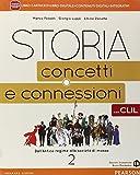 Storia. Concetti e connessioni. Con CLIL. Per le Scuole superiori. Con e-book. Con espansione online (Vol. 2)