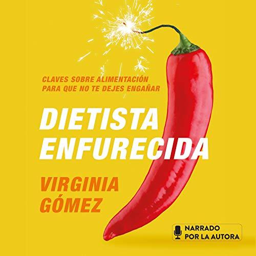 Diseño de la portada del título Dietista enfurecida