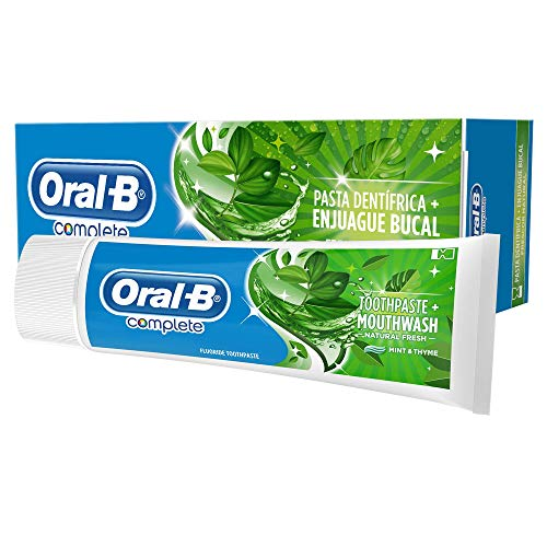 Oral-B Complete Frescura Natural Dental Pasta + Bucal spoeling - 75 ml