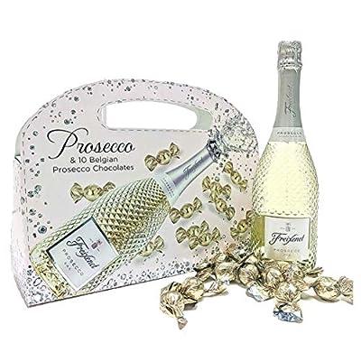 Freixenet Prosecco & Belgian Chocolate Gift Set Handbag - Perfect for Christmas