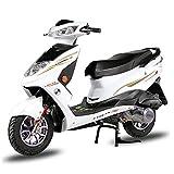 Wheel-hy 125cc Gas Scooter de Gas Legal de Calle Completamente automático,Blanco