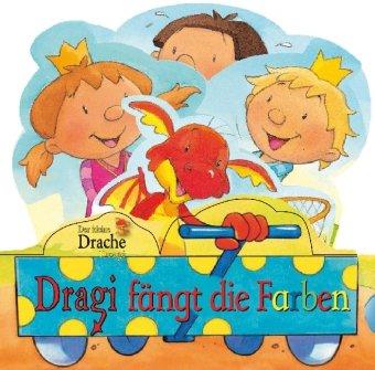 Der kleine Drache Dragi fängt die Farben