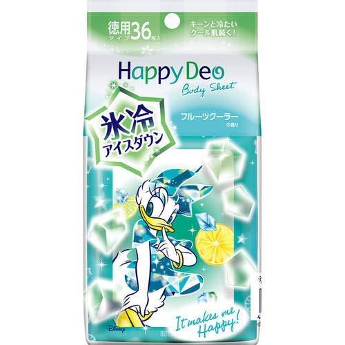 Happy Deo(ハッピーデオ) ボディシート アイスダウン