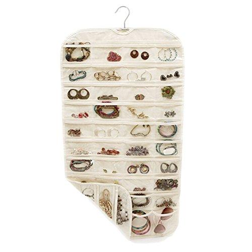 Bodhi2000 - Espositore per gioielli con 80 tasche