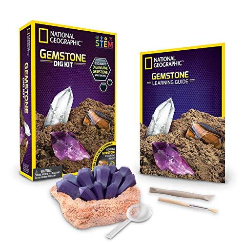 National Geographic 80475 Set zum Ausgraben von Edelsteinen