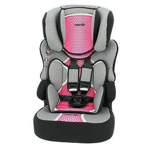 Nania Beline Auto-Kindersitz mit hoher Rückenlehne, Gruppe 1/2/3