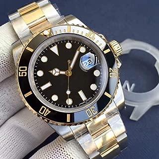 CWTCHY Watch Ceramic Bezel Mechanical Stainless Steel Automatic Movement Watch Date Watch Wristwatch
