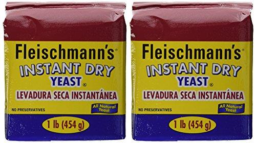 Fleischmann's Instant Yeast - 2/16 oz. Bags (.2 case(2 Bags))