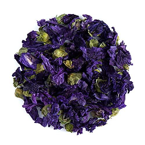 Malvenblaue Blütentee Blüte - Malva Sylvestris Malvenkraut Tisane 25g