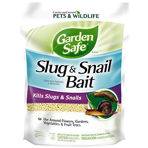 Garden Safe HG-4536 Slug & Snail Bait, Granules, 2-Pound, 6-Pack, Case Pack of 6, Brown/A