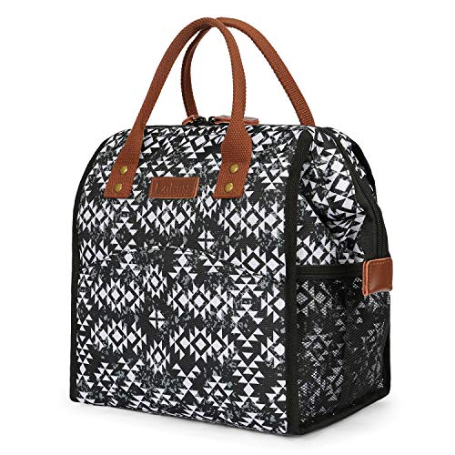 Lunch bags Women Lunch Tote Bag Water-resistant Lunch Box Insulated Leak Proof...