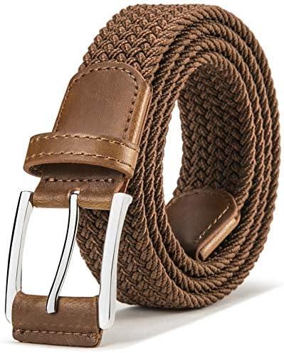 Stretch Belt Men Bulliant Mens Woven Stretch Braided Belt 1 3 8 product image
