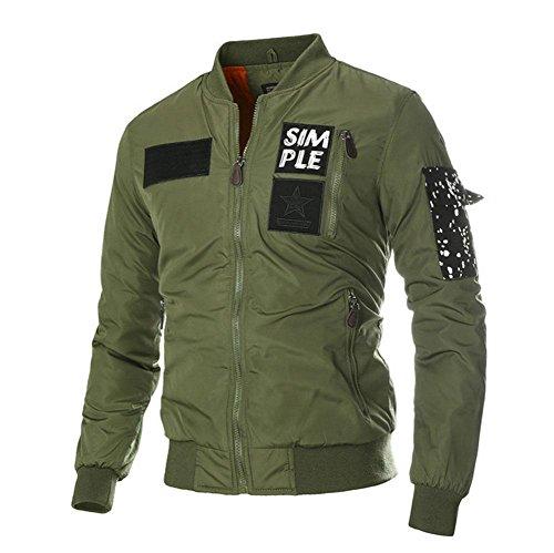 TAOTAOHerrenjacke / Motorradjacke / , army green , l