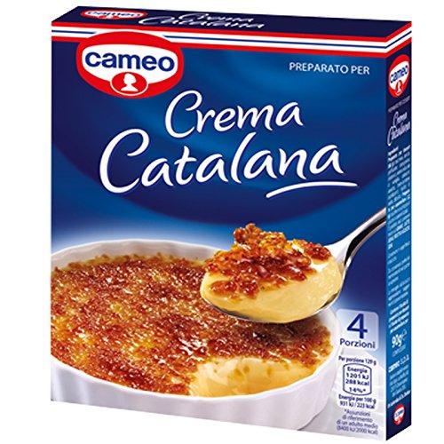 PREPARATO PER CREMA CATALANA GUARNIZIONE CHEESECAKE TORTA CREMA PASTICCERIA 90gr