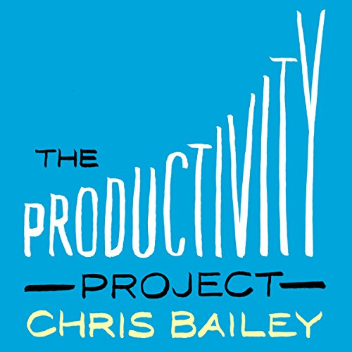 The Productivity Project     Proven Ways to Become More Awesome              By:                                                                                                                                 Chris Bailey                               Narrated by:                                                                                                                                 Chris Bailey                      Length: 8 hrs and 13 mins     32 ratings     Overall 4.7