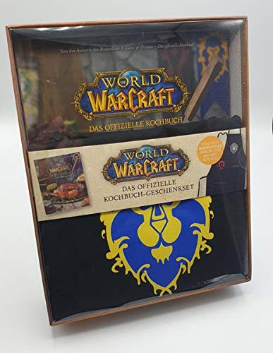 World of Warcraft: Das offizielle Kochbuch-Geschenkset: Kochbuch mit beidseitiger Horde- und Allianz-Schürze