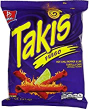 Barcel USA Takis Fuego, 4 Ounce (Pack of 20)