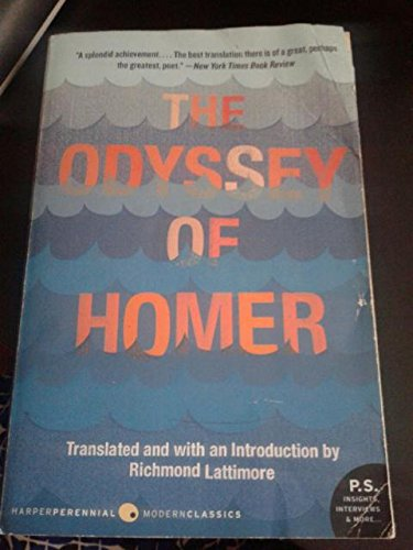 ODYSSEY OF HOMER : RICHMOND LATTIMORE TRANSLATION