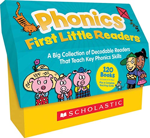 Compare Textbook Prices for Phonics First Little Readers Classroom Set: A Big Collection of Decodable Readers That Teach Key Phonics Skills Teachers Guide Edition ISBN 9781338717556 by Scholastic