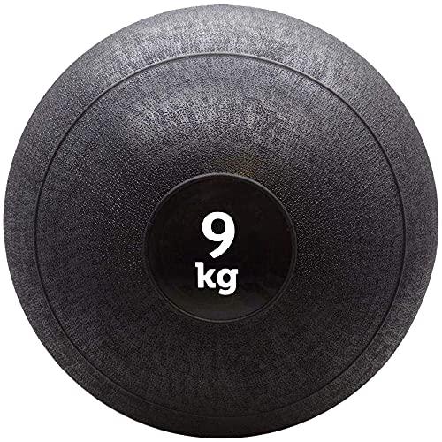BodyRip Medicine Slam Wall Ball 1kg 2kg 3kg 4kg 5kg 6kg 7kg 8kg 9kg 10kg 12kg 15kg (9 Kilograms)
