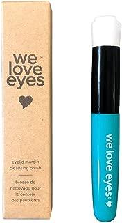 We Love Eyes - Eyelid Margin Cleansing Brush - Ergonomic brush for optimum eyelid and eyelash cleaning for lash extension cleaning, daily eyelid margin cleaning