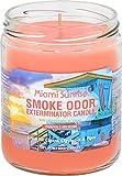 Smoke Odor Exterminator Miami Sunrise Candle, 13oz, Pack of 2
