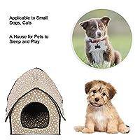 猫犬犬小屋洗えるペットの巣ペットアプライアンス睡眠遊び(Button gray)