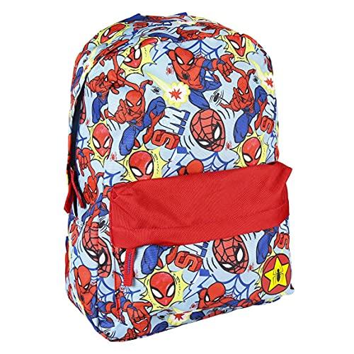 CERDÁ LIFE'S LITTLE MOMENTS Mochila Infantil Estamapada Spiderman-Licencia Oficial Marvel Studios, 0 Unisex niños, Multicolor