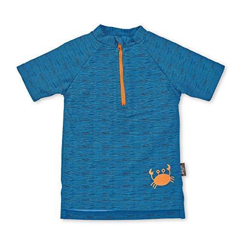 Sterntaler Baby-Boys Kurzarm-Schwimmshirt Rash Guard Shirt, blau, Medium