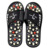 ZURU BUNCH® Spring Acupressure Magnetic Therapy Sandals |Yoga Paduka Acupressure Foot Relaxer| Foot