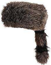 Rhode Island Novelty Faux Raccoon Tail Hat One Per Order