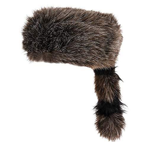 Rhode Island Novelty Raccoon Tail Hat, One Per Order