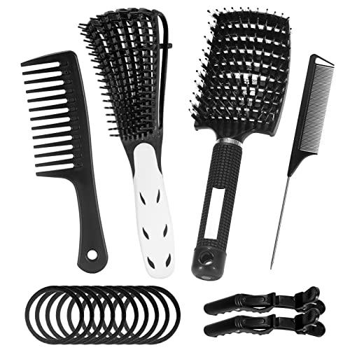 LUNEKUCK Kit de 16 Brosse Cheveu...