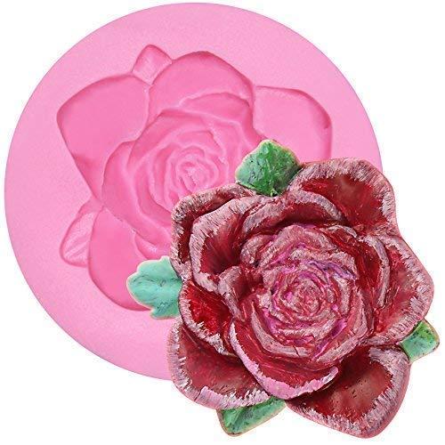 musykrafties Variés Fleur Rose Fondant Moules - aléatoire