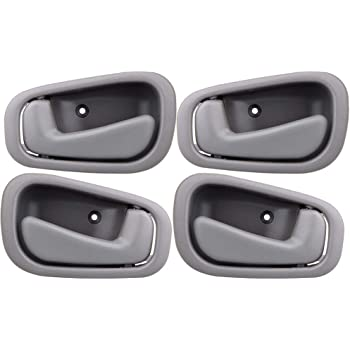 Amazon Com Faersi 4pcs Inside Interior Door Handle Front Rear Driver Passenger Side Replacements For 1998 1999 2000 2001 2002 Toyota Corolla Prizm Manual Lock Beige Tan Automotive