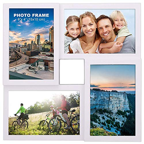 Besteek 10 Pack Refrigerator Magnet Clips - Strong Heavy Duty Magnetic Clips, Perfect Fridge Magnets, Photo Magnets, Kitchen Magnets for House Office Organizing (4 Pack)