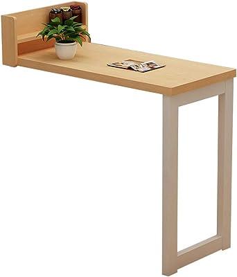 Amazon.com: Mesa de escritorio plegable para espacios ...