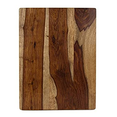 Architec Gripperwood Sheesham Cutting Board, Non-Slip Gripper Feet, 10  by 15